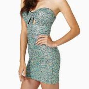 Womens Nastygal Candy Dream Sequin Dress
